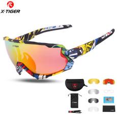 sportpolarizedsunglasse, polarizedglasseswith3interchangeablelense, Cycling, Sunglasses