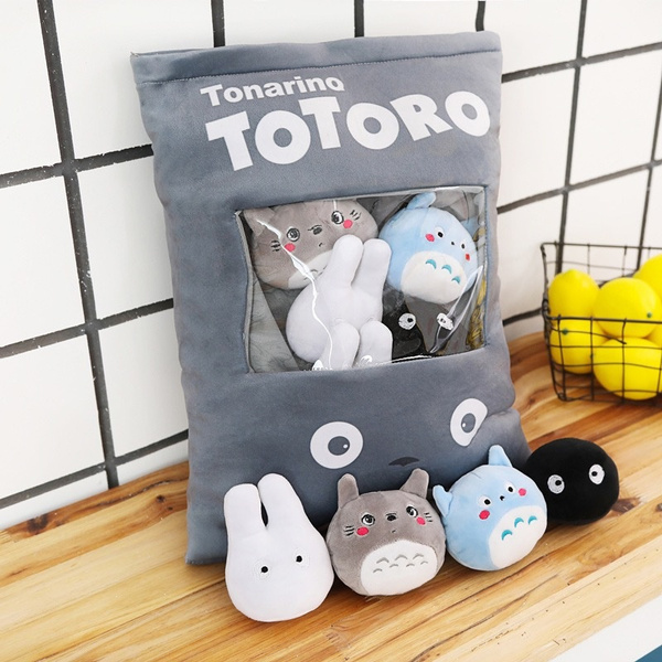 Plush Toys, My neighbor totoro, Plush Doll, Snacks