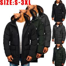 hoodiesformen, Outdoor, Winter, slim