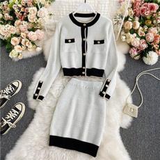 temperamentsuit, Jacket, Two-Piece Suits, skirtsuit