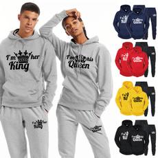 autumnwinter, Fashion, hoodiesformen, Couple