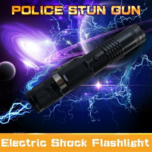 Flashlight, stungun, selfdefenseweapon, Hunting