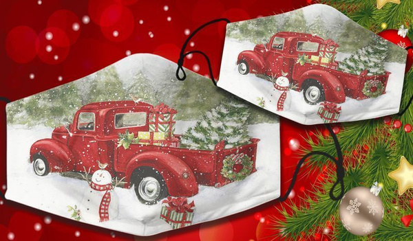 facemaskadult, Christmas, christmasgiftformen, Tree