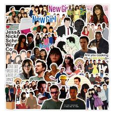 newgirl, Stickers, Guitars, Pvc
