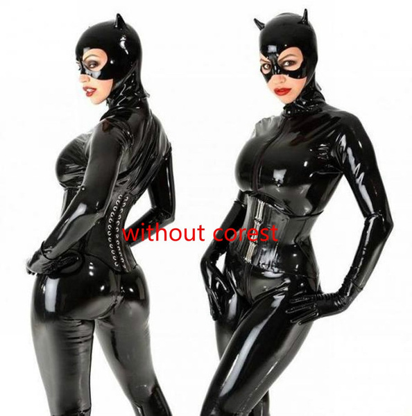 catwoman, Cosplay, leather, Cover