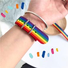 rainbow, Moda, Joyería, Colorful