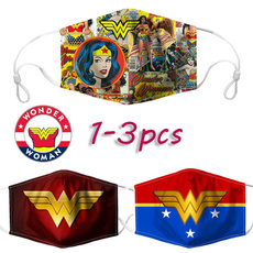 Cotton, wonderwomanmask, Superhero, unisex