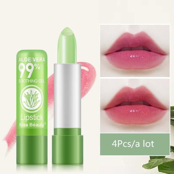Lipstick, Beauty, aloe, moodchanging