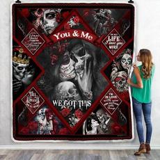 Fleece, Love, Skeleton, skull