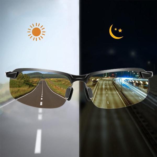 Polarized, photochromic, Driving, transition