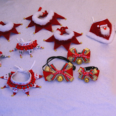 puppy, Christmas, Necktie, bow tie