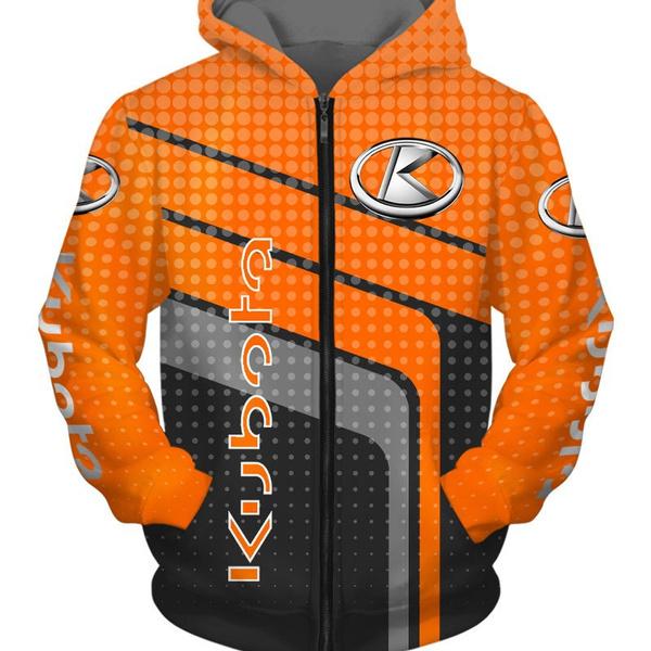 3D hoodies, Fashion, outwearhoodie, kubota