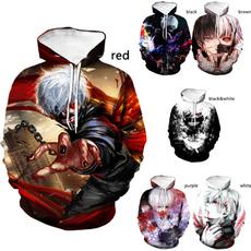 3D hoodies, Fashion, Winter, Long Sleeve