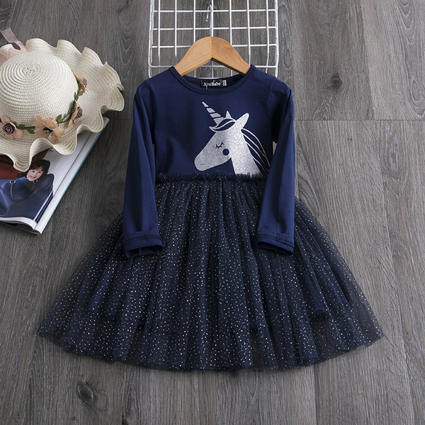 tutudre, girls dress, unicorndre, Sleeve