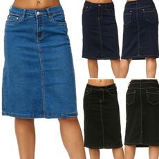 Blues, womens jeans, summer skirt, denimskirt