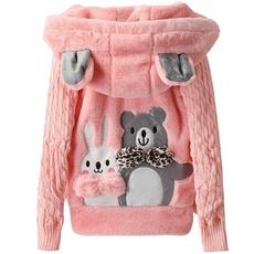 cute, hooded, Outerwear, Sleeve