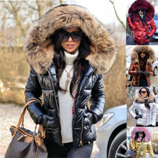 fauxfurjacket, fauxfurcoat, Hood, Fashion