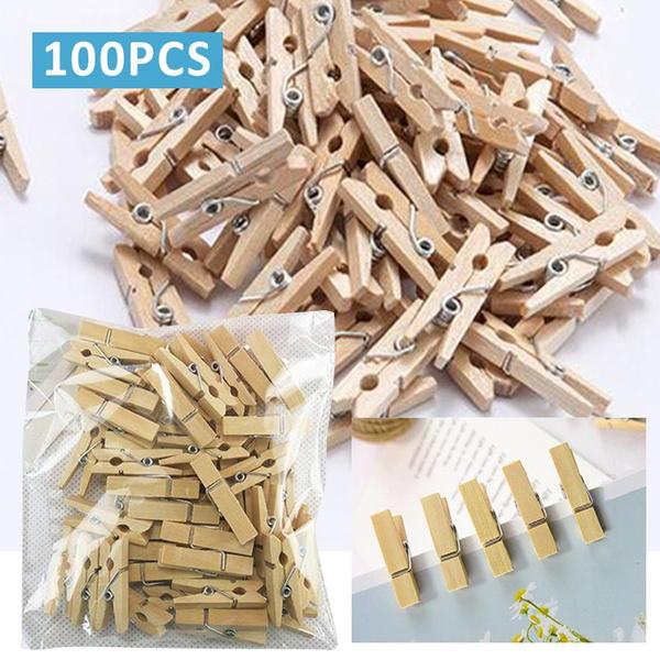 Mini, pincraftclip, clothespin, Wooden