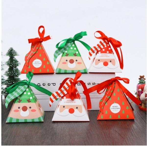 Box, Christmas, Gifts, Food