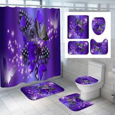 butterfly, Bathroom Accessories, Door, Home Decor