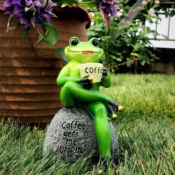 Decor, Outdoor, Garden, frogsmodel