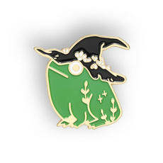 frogpin, bagclothespin, Fashion, Witch