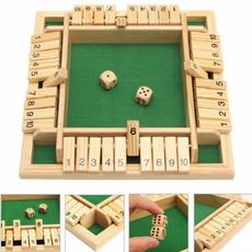 partygame, Board Game, woodendicegame, childrensentertainment