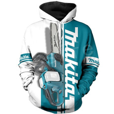 3D hoodies, Fashion, makita, Coat