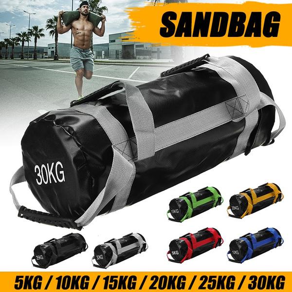 Heavy, sandbag, weighttraining, Fitness