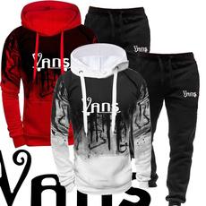 Fashion, pullover hoodie, pants, Long Sleeve