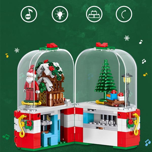Box, diy, led, Christmas
