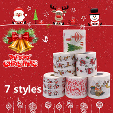 santaclauspaper, Decor, christmasrollpaper, Christmas
