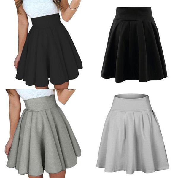 Mini, Skater Skirt, Fashion, pleated dress