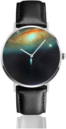 solarsystemwatch, Fashion, classic watch, leather strap
