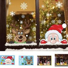 Decor, windowsticker, glasssticker, christmaswindowcling
