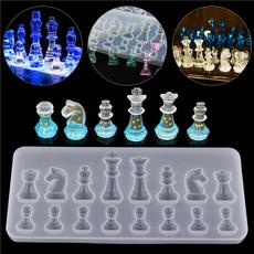 Chess, diyjewelry, chocolatemould, Silicone