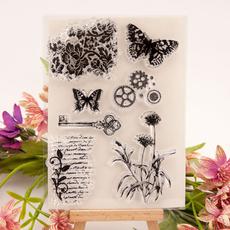 siliconestamp, scrapbookingstamp, photoalbumdecorative, Stamps