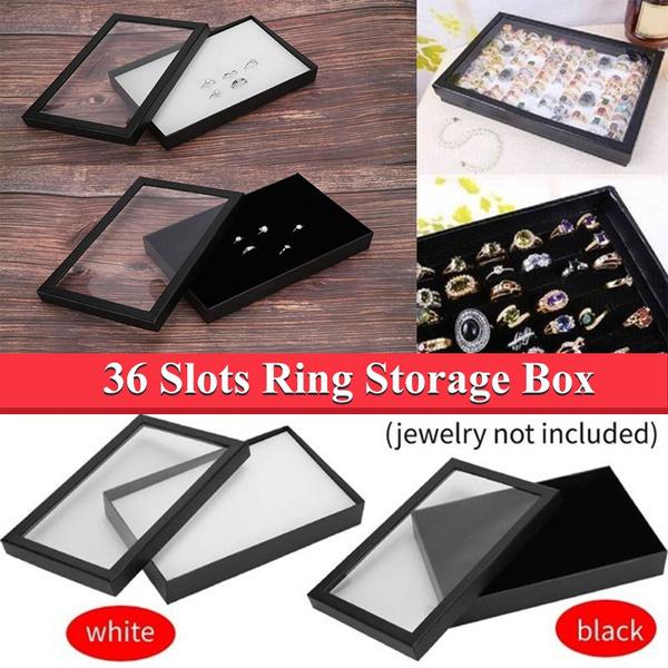 Box, Jewelry, ringboxe, Storage