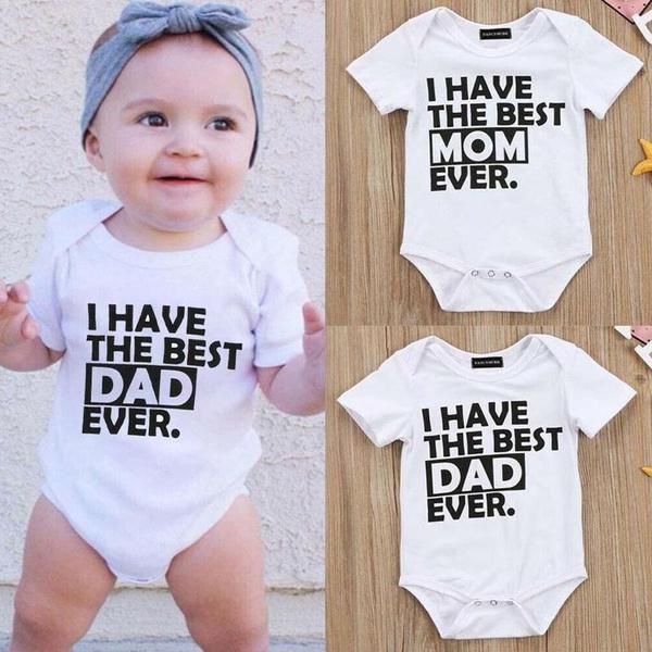 Baby Girl, infantromper, babyromper, letter print