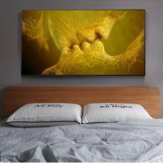 Home & Kitchen, art, canvaspainting, golden