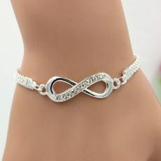 Charm Bracelet, Crystal Bracelet, DIAMOND, Gifts