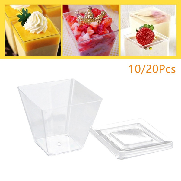 Home & Kitchen, dessertcupwithlid, cakecup, Home & Living