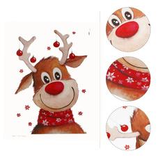 Beautiful, Christmas, christmasapplique, Deer