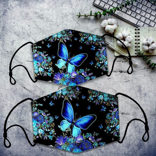 Blues, butterfly, trymybest, Flowers
