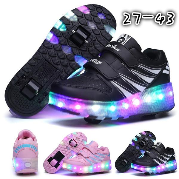 Sneakers, Outdoor, led, rollerskate