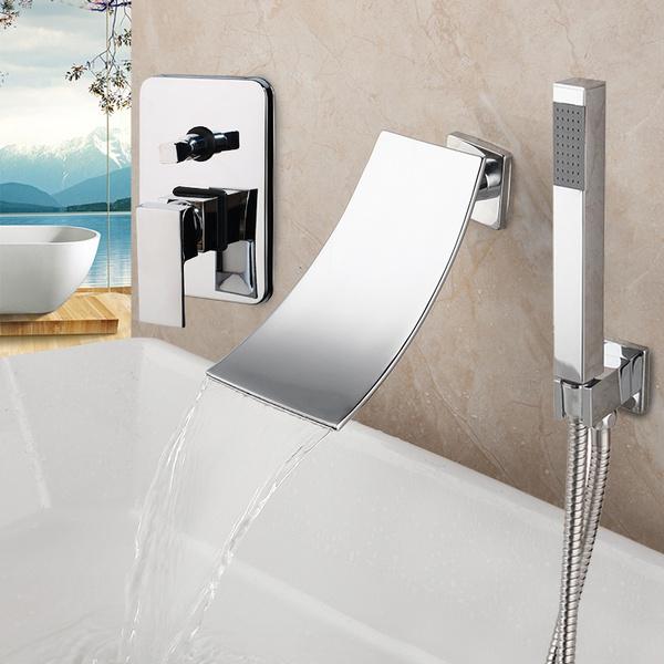 bathroomfaucet, Faucets, wallmounted, Wall Mount