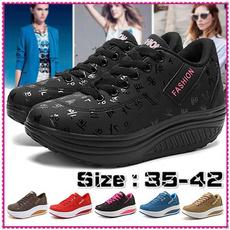 shakeshoe, Plus Size, Platform Shoes, Casual Sneakers