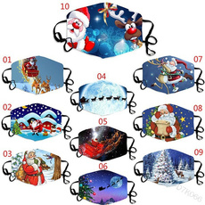 transparentmask, Tree, festivalmask, Christmas