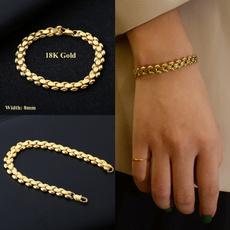 Charm Bracelet, 18k gold, Joyería, Regalos