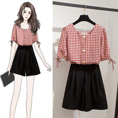 Summer, Style, Square, Collar